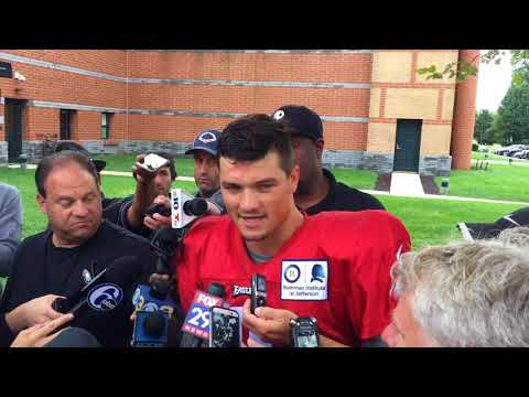 Christian Hackenberg on joining Philadelphia Eagles: 'I'm just going to come in and give them everything I have'