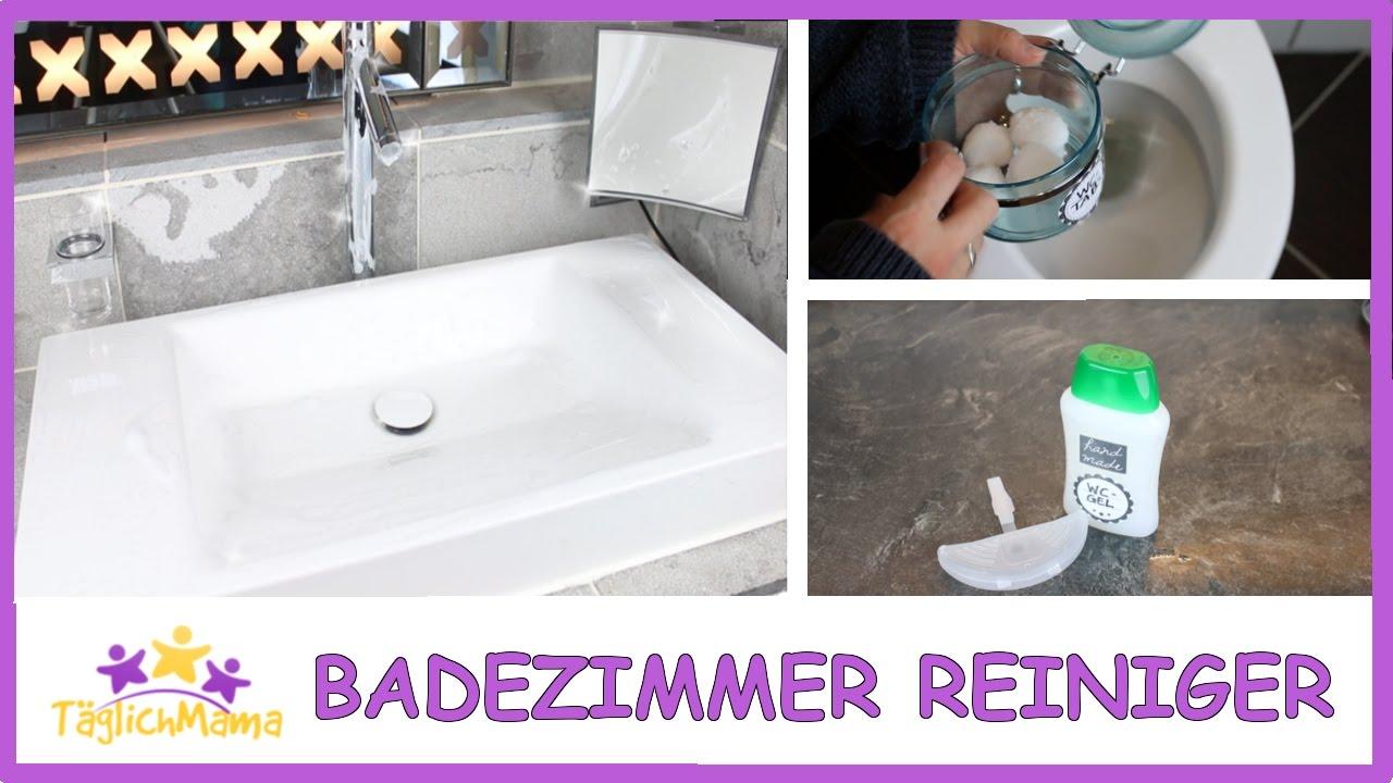 DIY BADEZIMMER-REINIGER - natürlich & günstig / Täglich Mama - YouTube