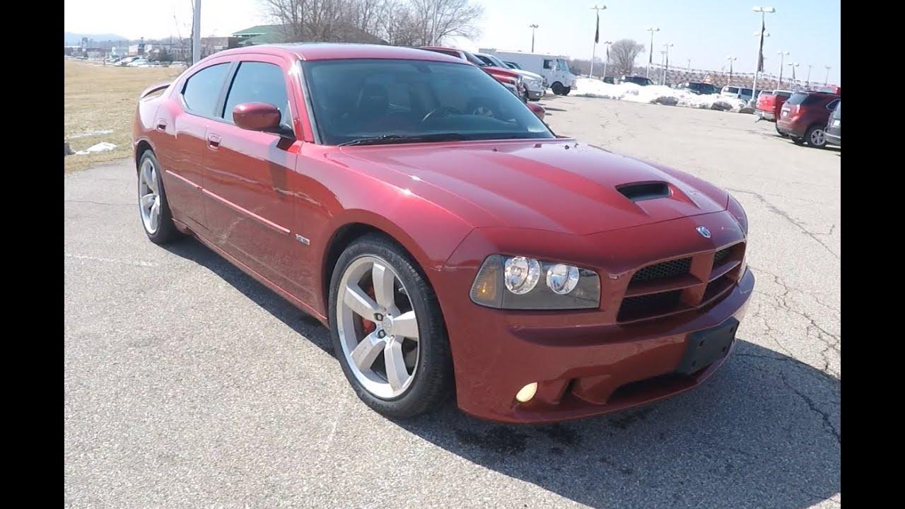 Used 2006 Dodge Charger SRT8 Red | HEMI | Martinsville, Indiana Dodge  Dealer | P10185