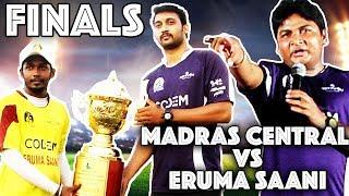 Madras Central Vs Eruma Saani : Final YCL Cricket Match   YouTubers Cricket League Final Match 2017