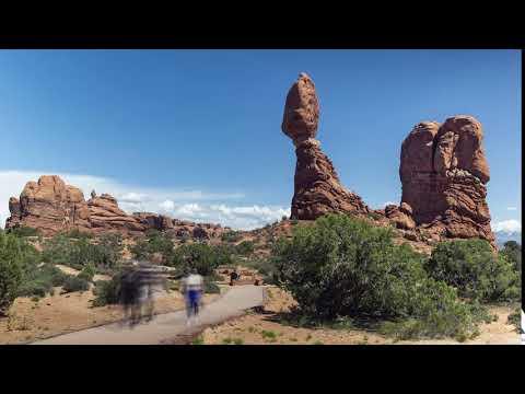 Balanced Rock Pathway Time-lapse