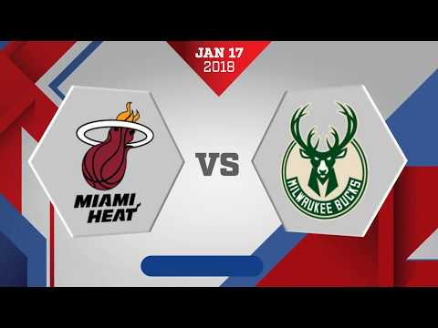 Miami Heat vs. Milwaukee Bucks - December 17, 2018