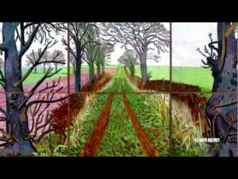 BigB.TV - DAVID HOCKNEY : A BIGGER PICTURE , AT THE GUGGENHEIM BILBAO MUSEUM