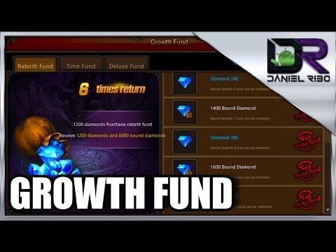 MU origin Growth Fund - Como ganhar diamantes