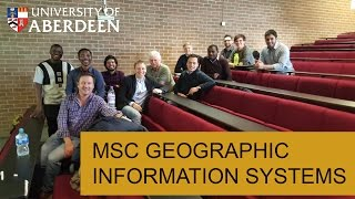 Learn about our MSc degree programme in Geographical Information Sy...