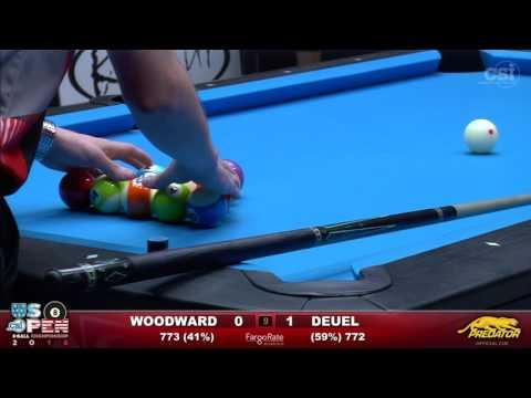 2016 US Open 8-Ball: Skyler Woodward vs Corey Deuel