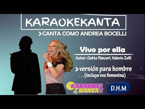 karaoke vivo por ella version para hombre mp3
