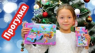 Видео для детей.  Прогулка по городу на День Святого Николая. Покупаем игрушки(