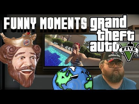 GTA 5 Online Funny Moments 3 ! Planet Chucky