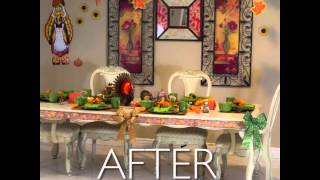 Thanksgiving - Before & After