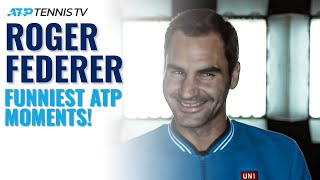 Funniest Roger Federer ATP Moments Compilation!