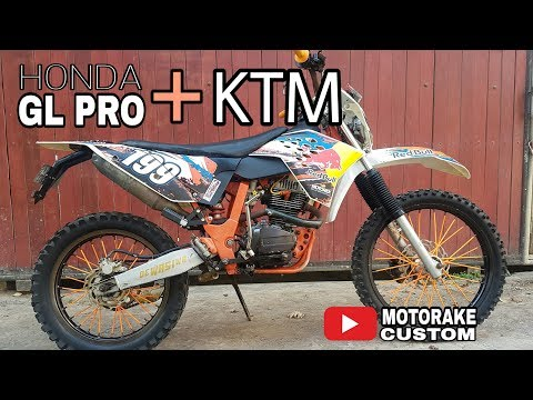 Trail GL Pro - Modifikasi Body KTM + Kaki KLX