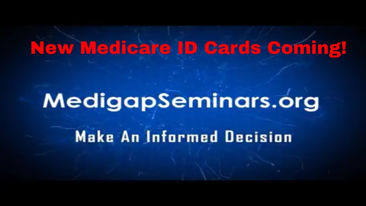 Seniors, be on the lookout for new Medicare card