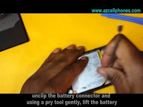 Sony Xperia Z1s Repair - Battery Removal