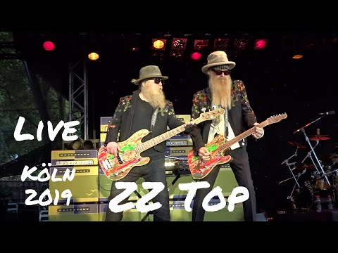 ZZ Top - 8 Complete Songs - Live @ Tanzbrunnen Cologne 9.7.2019