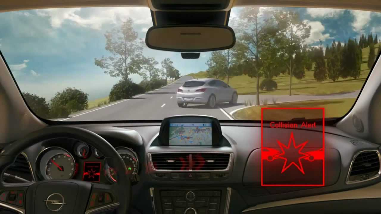 What Is Lane Departure Warning >> Opel Mokka SUV - Opel Eye [Front Camera system] (Full HD ...