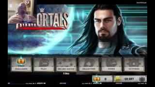 5 Gold Pack Opens!!! Battling Like a BOSS!!  WWE Immortals