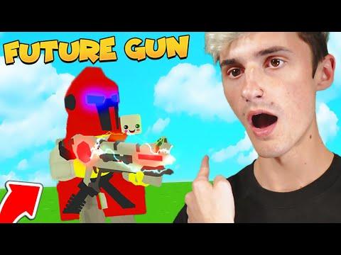 I Got The RAREST👀 FUTURE GUN 😯 TO SAVE THE WORLD (Roblox)