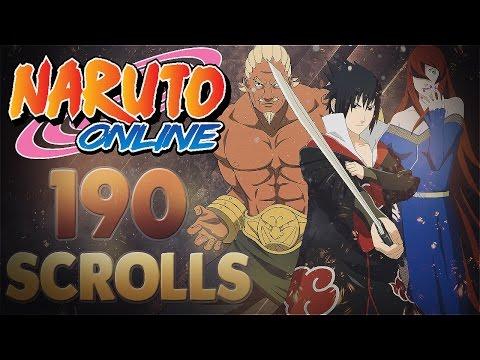 Naruto Online | 190 Seal Scrolls Kage Treasure | Five Kage Treasure