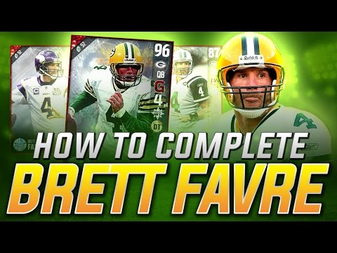HOW TO GET 96 BRETT FAVRE in MADDEN 17 ULTIMATE TEAM ULTIMATE FREEZE - Set Breakdown and Explanation