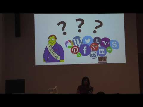 Merlyna Lim: Keynote for Politicians and Social Media in the Global South Conference