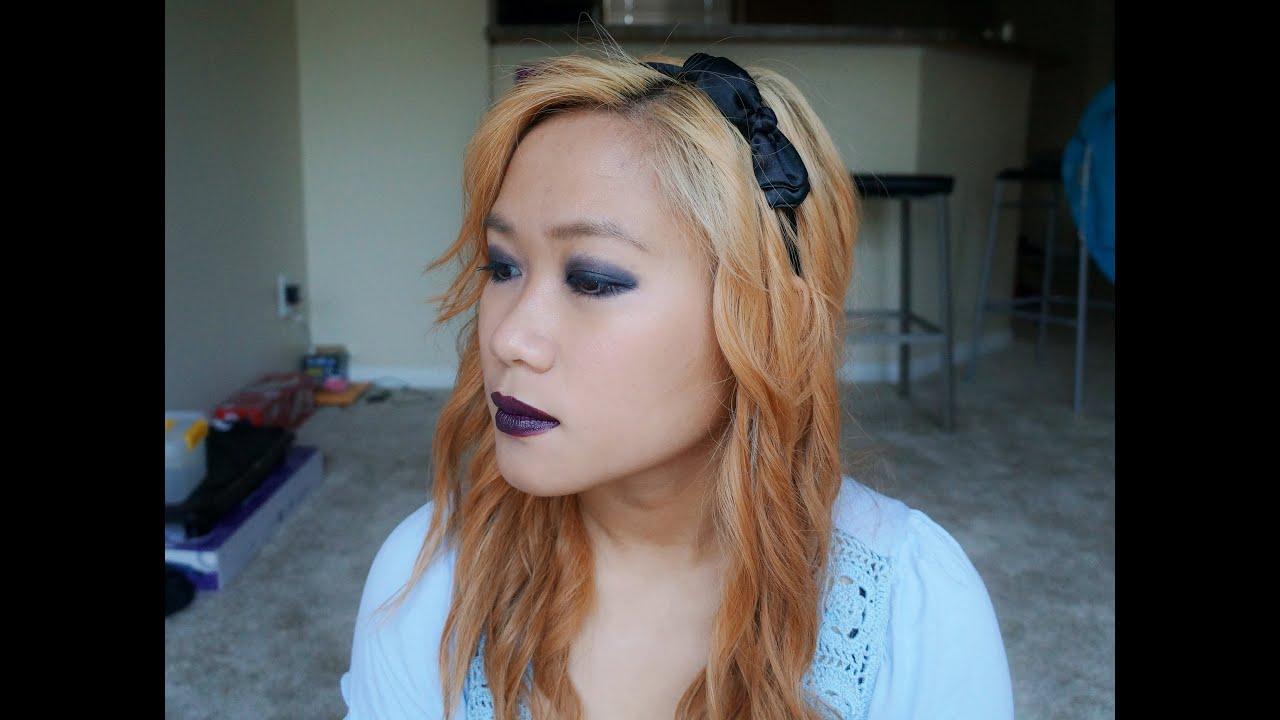 Halloween] Alice in Wonderland - Dark Alice Makeup Tutorial - YouTube