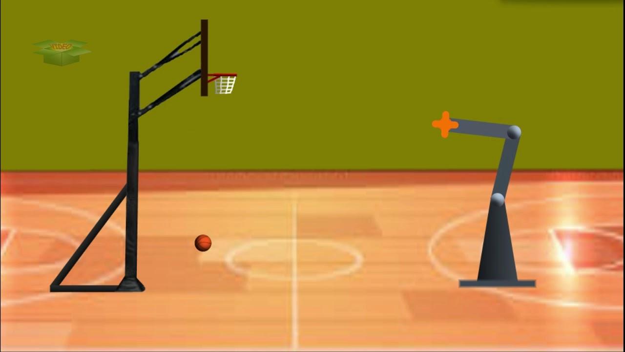 Michael Jordan Is Back - The Amazing Basketball  Playing Robot