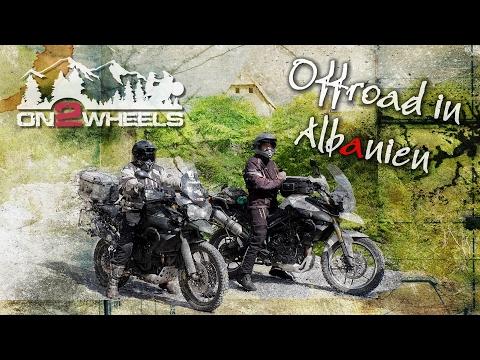 OFFROAD DURCH DAS HINTERLAND ALBANIENS   Triumph Tiger 800 XC Motorradtour Albanien