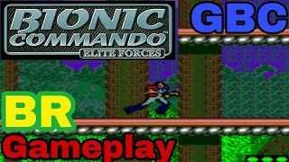 Bionic Commando EF [PT-BR] Gameplay GBC
