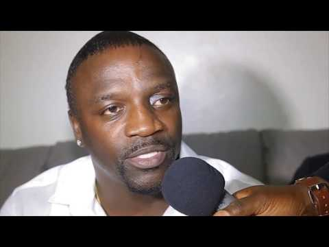 Akon Lighting Afria in The Gambia