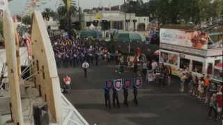 San Gabriel HS - The Black Horse Troop - 2012 L.A. County Fair Marching Band Competition