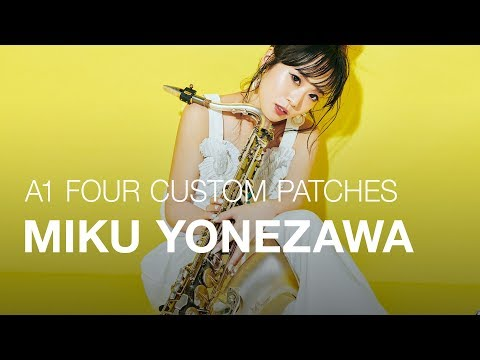 A1 FOUR CUSTOM PATCHES created by Miku Yonezawa