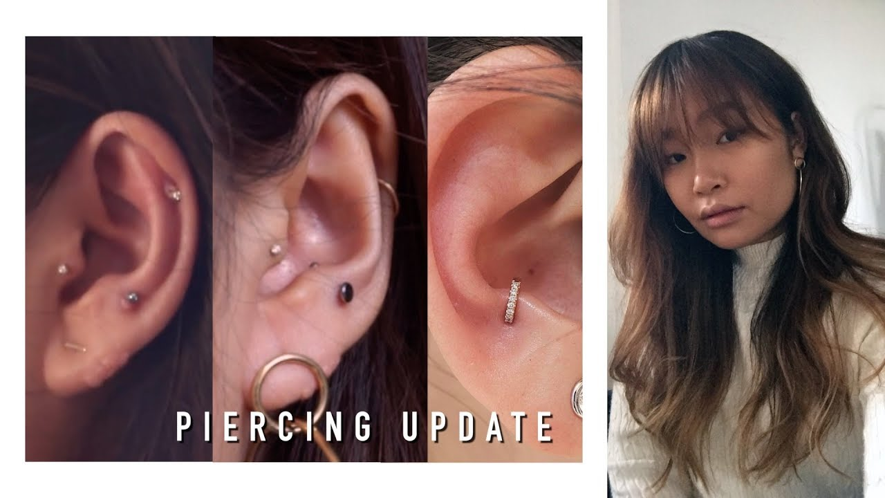 Helix Anti Tragus Piercing Update And Getting An Impromptu
