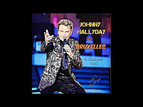 Johnny Hallyday Concert inédit Bruxelles 2000 partie 1