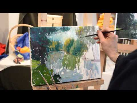 Impressionist Painting Demonstration