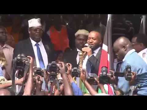 Kenya will have two Presidents such as Tanzania. So Raila Odinga don't care