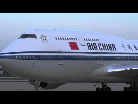 Joint Base Andrews Leader Arrivals: China