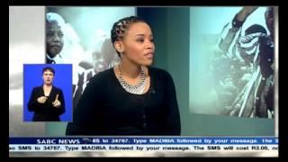 Kebby Maphatsoe on Madiba