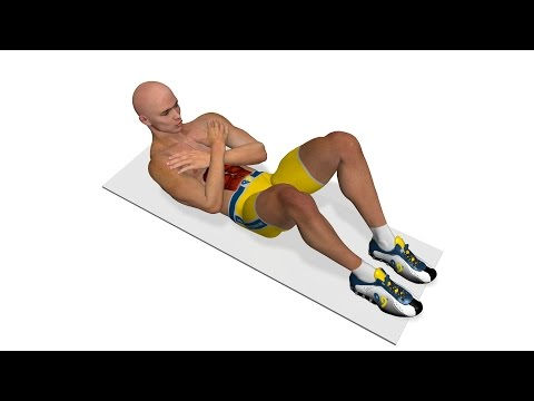 Best Abs - Crunch With Crossed Arms