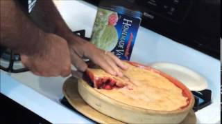 Tart But Sweet- Cherry Pie- Homemade