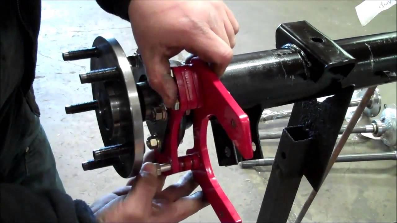 66-77 Ford Bronco Rear Disc Brake Kit Installation