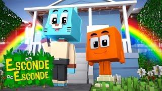 Minecraft: MUNDO DE GUMBALL! (Esconde-Esconde)