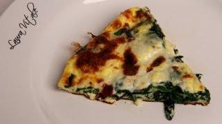 Spinach Frittata Recipe - Laura Vitale - Laura in the Kitchen Episode 320