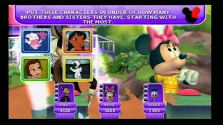 Disney Th!nk Fast PS2 Multiplayer Gameplay