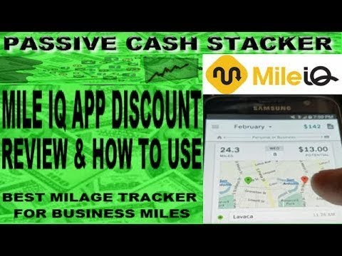 MILE IQ APP DISCOUNT - REVIEW & HOW TO USE MILEIQ - BEST MILEAGE TRACKER APP For BUSINESS MILES