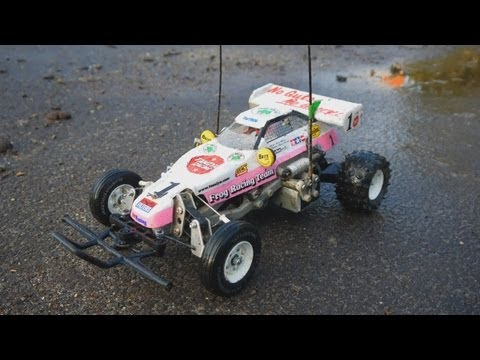 How to drift the Tamiya The Frog - 1:10 RC Buggy Car with Brushless Motor