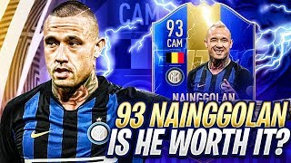TRYING 93 TOTS NAINGGOLAN! I RAGED A LOT! FIFA 19 Ultimate Team