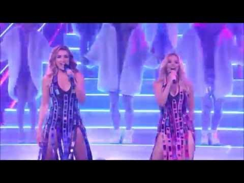 Kylie ft. Dannii Minogue • 100 degrees (Live X Factor AU)