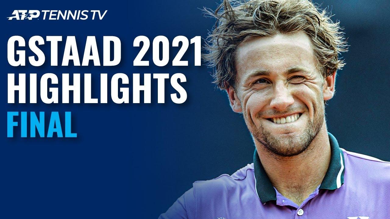 Casper Ruud vs Hugo Gaston   Gstaad 2021 Final Highlights