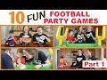 10 Best Football Party Games (Part 1) | Family Fun Every Day